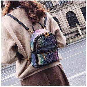 Best Christmas gift Girls Bling backpack daypack